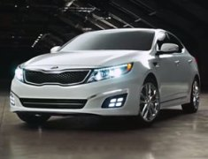 Kia Motors Rolls Out 2014 Kia Optima