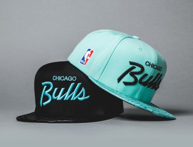 Just Don Fall/Winter 2013 Mint/Black Bulls Cap Capsule