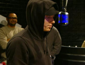 Eminem, Slaughterhouse Freestyle On 'Rap City'