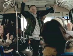 Macklemore & Ryan Lewis Surprise Performance On NYC Bus
