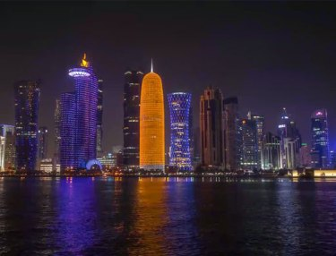 Stunning Time-Lapse Of City Of Doha