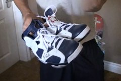 Game's Air Jordan 6s worn during 40 Glocc fight.