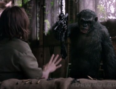 Dawn Of The Planet Of The Apes: Koba's Weapon (Clip)