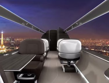 Technicon Design's Windowless Jet Concept