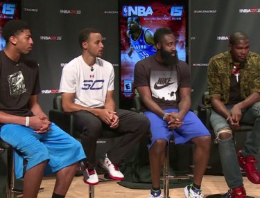 Kevin Durant, Steph Curry, Other Players Talk NBA 2K15