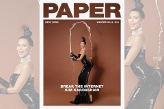 Paper Magazine - Winter Issue - Kim Kardashian