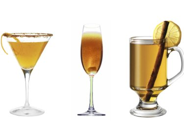 Courvoisier Holiday Cocktail Recipes