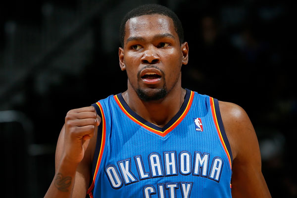 Kevin Durant Returns To OKC Thunder Line-Up