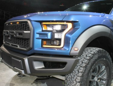 Closer Look At The 2017 Ford F-150 Raptor Truck