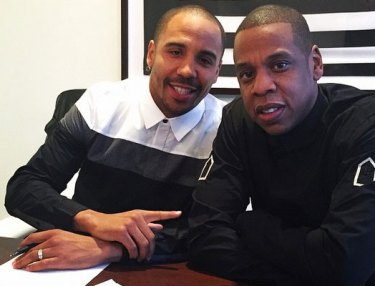 Andre Ward and Jay Z