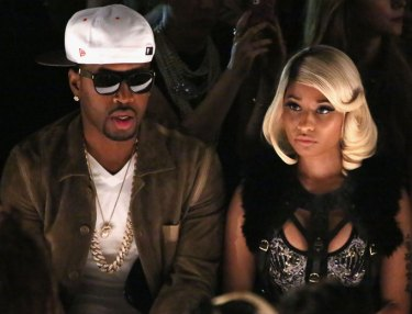 Safaree and Nicki Minaj