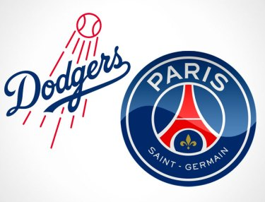 Paris Saint-German and Los Angeles Dodgers