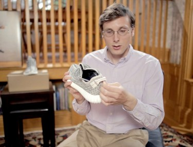 LOL! Brad Hall Unboxes The Yeezy Boost 350