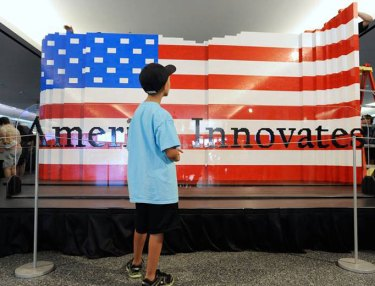 Here's The Largest American Flag Ever... From LEGO!