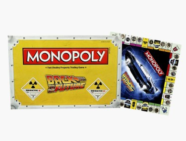 Back To The Future-Themed Monopoly Set