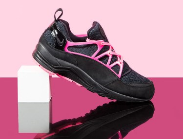Nike Air Huarache Light FC - Black/Hyper Pink