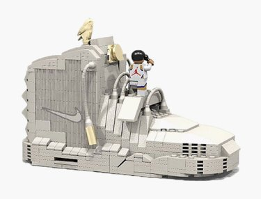 OVO-Inspired Nike Air Yeezy 2 Imagined In LEGO