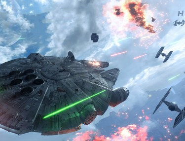 Star Wars Battlefront: Fighter Squadron Mode (Gameplay Trailer)