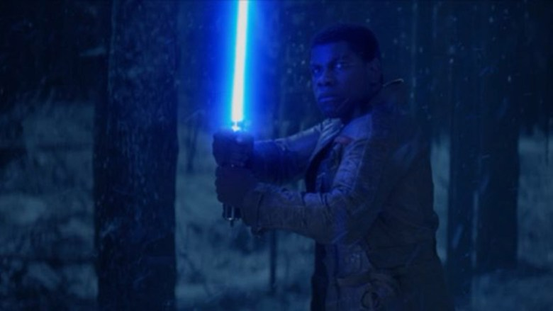 New 'Star Wars: The Force Awakens' Clip Showcases Fin's Lightsaber