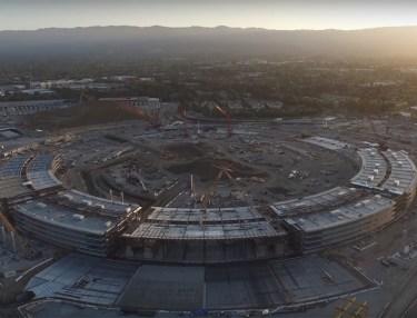 A Look At Apple's New Campus Looks Like So Far