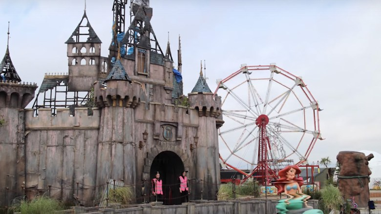 What It's Like To Visit Banksy's Dismaland Park