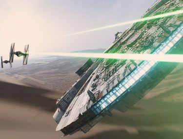 360-Degree Ride Through 'Star Wars: The Force Awakens'