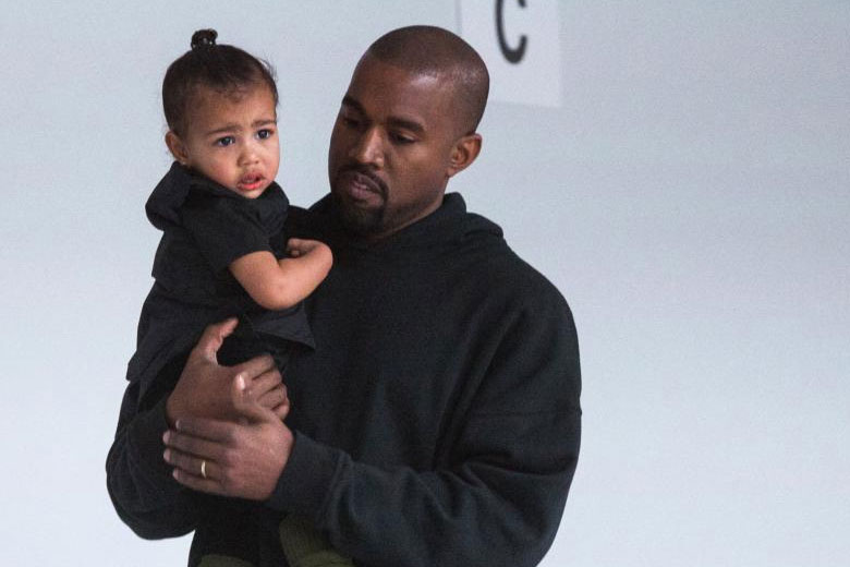 Kanye West and daughter North