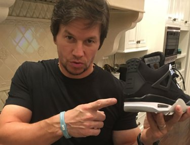 Mark Wahlberg is a sneakerhead