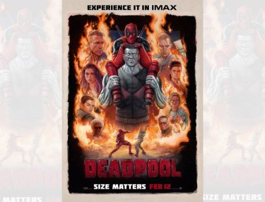 Deadpool Gets Piggyback Ride From Colossus In IMAX Poster