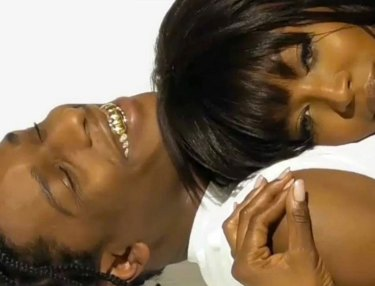 A$AP Rocky Cozies Up With Naomi Campbell For GUESS