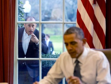 Jerry Seinfeld x President Obama: Comedians in Cars Getting Coffee
