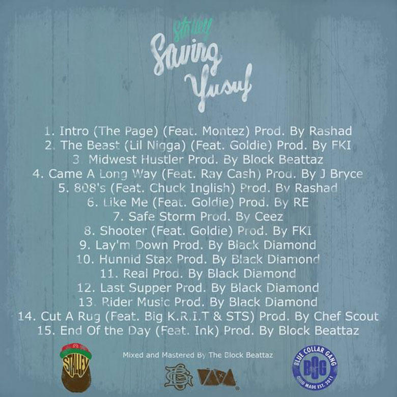 Stalley - Saving Yusuf (Mixtape)