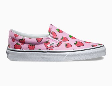 Vans Girls Spring 2016 'Strawberries' Pack