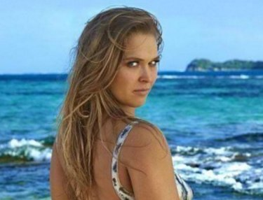 Ronda Rousey Bodypainting for SI Swimsuit Issue 2016
