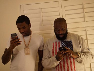 Meek Mill and Rick Ross