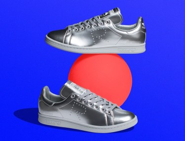 Raf Simons x Adidas Originals Stan Smith Silver
