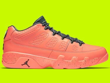 Air Jordan 9 Low - Bright Mango