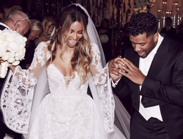 Ciara & Russell Wilson Get Married