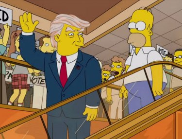 The Simpsons Predicted Trump As President