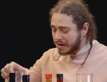 Post Malone on Hot Ones