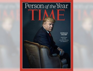 Donald Trump x Time Person of the Year
