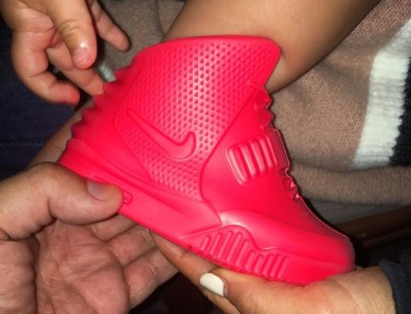 Baby Red October Air Yeezy 2s