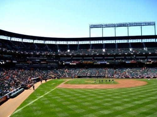 Baltimore Orioles Lower Boxes