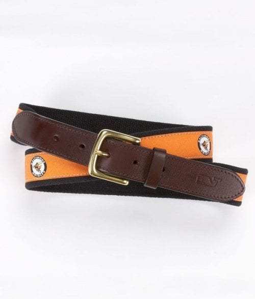 Vineyard Vines Club Belt Baltimore Orioles