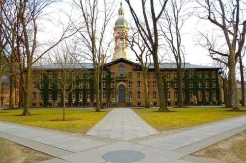 Nassau Hall, Princeton University. Photo courtesy Wikimedia Commons.