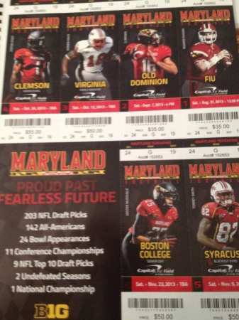 These tickets are cursed! Via @mdsccr1516