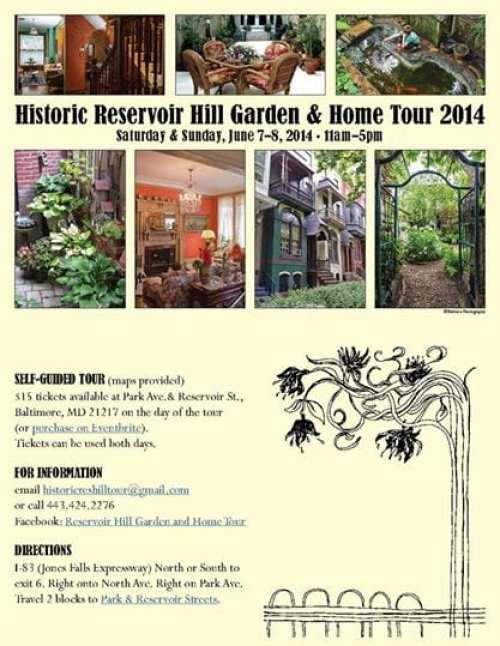 Reservoir Hill Garden Tour