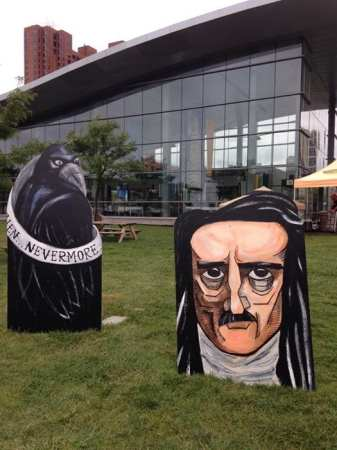 Kevin Sherry's Baltimore Book Festival art pieces