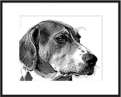 Park School Holiday Artisan Market - Pet portraits. You know you need one of these! Brooke from Fuzzy Mug does a really beautiful job of capturing the likeness of your furry family member.