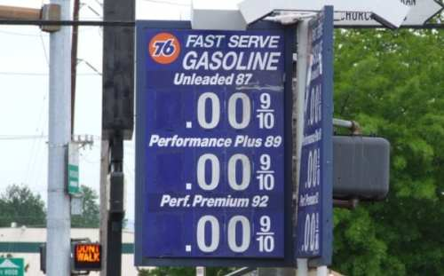 Gas Prices across Maryland